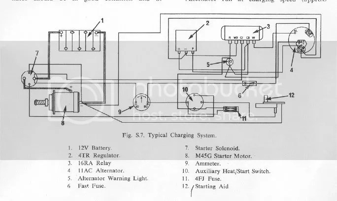typical wiring diagram weg motor thermistor perkins 4108 alternator