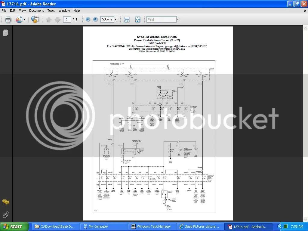 saab 900 ignition wiring diagram