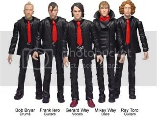 My Chemical Romance Action Figures