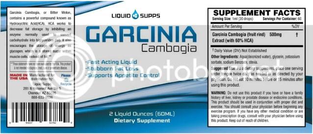 Garcinia Cambogia Drops by Liquid Supps