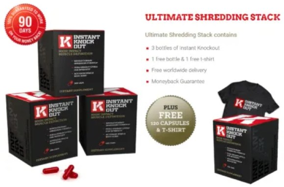 instant knockout 3-month supply