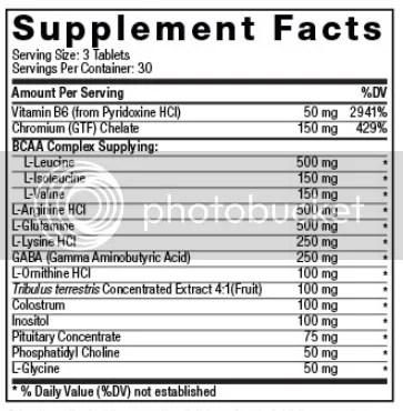 marine muscle klicks ingredients