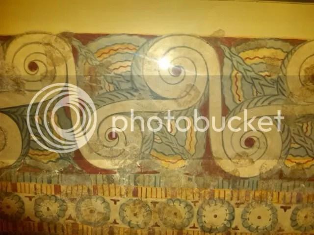 Τοιχογραφία από το Ανάκτορο της Τίρυνθας