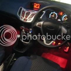 Ford Fiesta Mk7 Headlight Wiring Diagram Car Water Temperature Gauge Led Footwell Lighting Club Owners