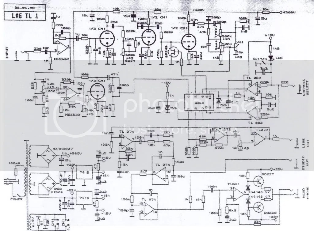 Bogner Uberschall Schematic Pictures to Pin on Pinterest
