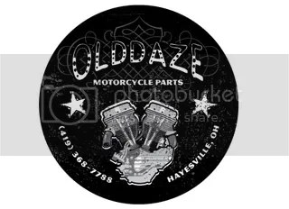 Olddaze Motorcycle Parts was looking for a shop sticker to hand out to current and potential customers.