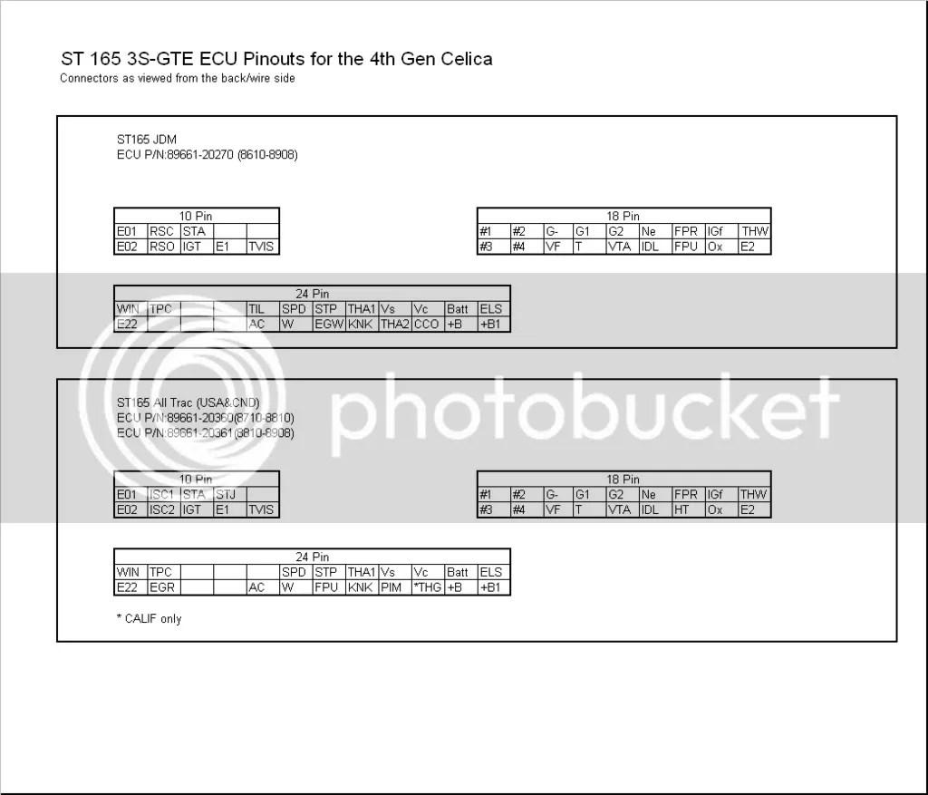 3sgte st215 wiring diagram chrysler sebring diagrams 91 5sfe ecu 26 images