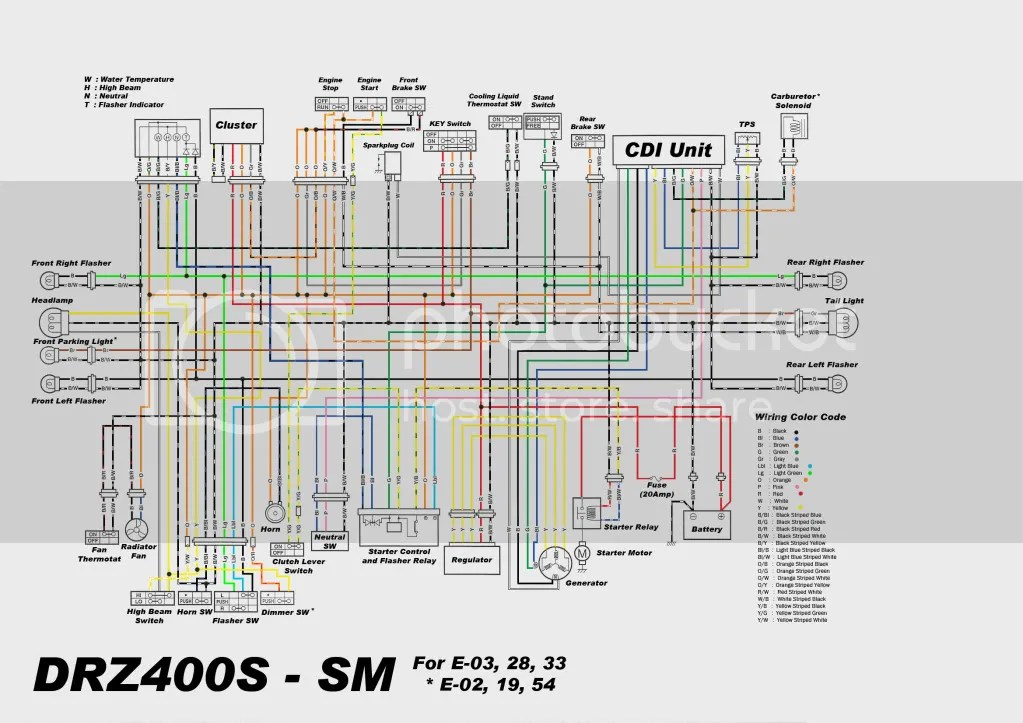 2006 drz 400 wiring diagram honeywell zone valves drz400e | get free image about