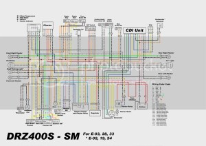 2008 drz SM wiring Diagram  DRZ400ESSM  ThumperTalk