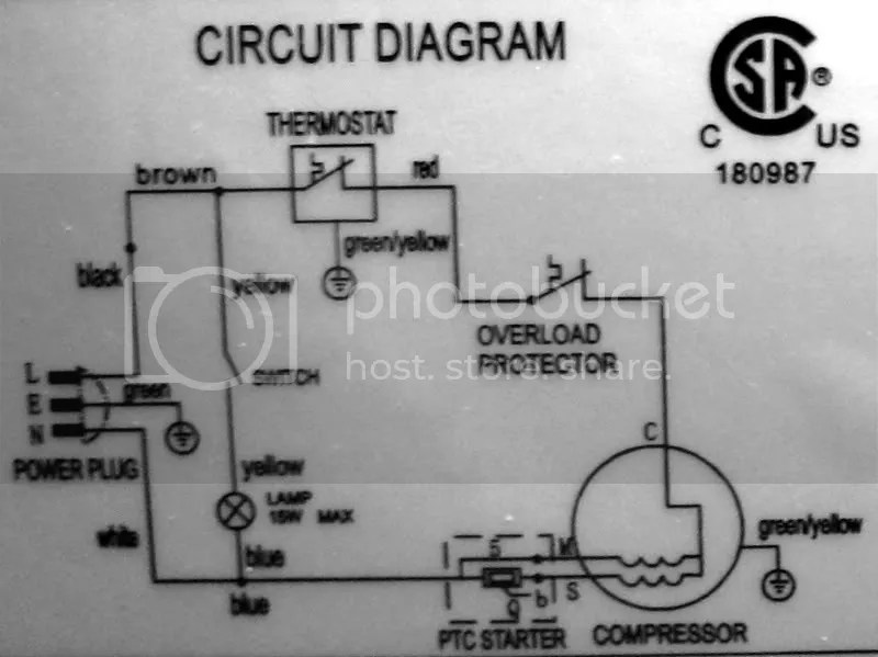 Wiring Diagram Of Refrigerator Nofrost