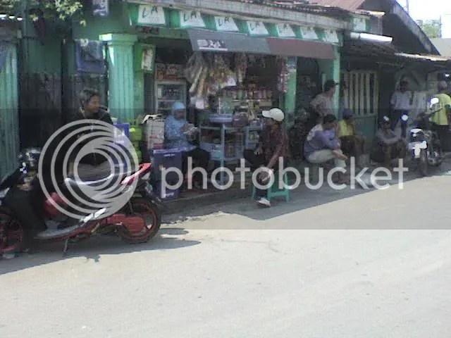 Warung bang Omay di Tevland