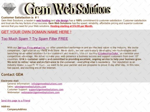 Gem Web Solution