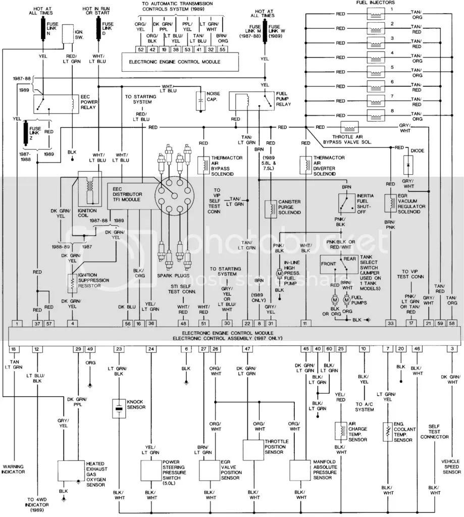 medium resolution of 85 bronco 2 wiring diagram