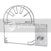 IKEA Vacuum Hose Wall Holder Storage Rack Organizer NEW