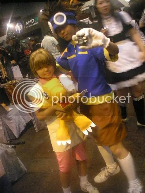 Taichi and Hikari Yagami (Digimon Adventure 1)