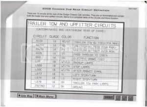 Trailer Wiring  Dodge Diesel  Diesel Truck Resource Forums