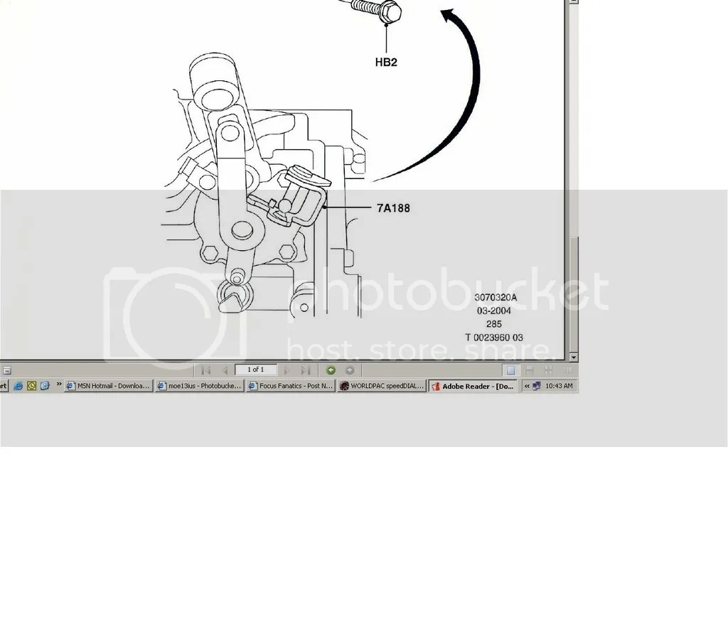 2003 Ford Focus Shifter Diagram. Ford. Auto Parts Catalog