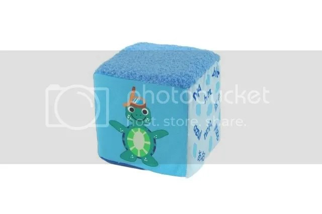 Baby Einstein blue baby block