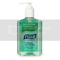 Purell as lube