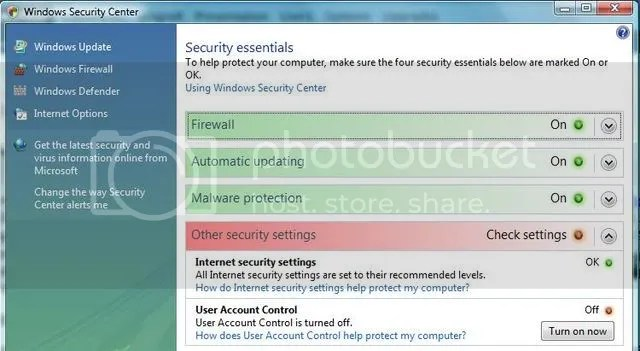 Windows Security Alert 2