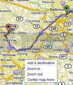 Google Maps add destination