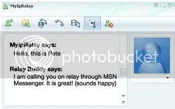 IP-Relay via MSN