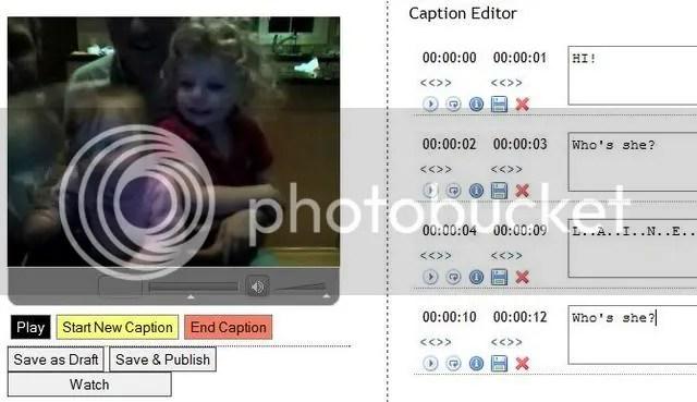 OpenCaptions screenshot