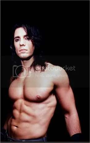 criss angel sexy abs