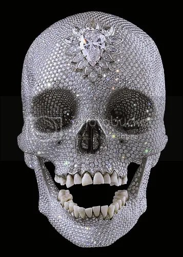 Damien Hirst Diamond Skull worth £50 million