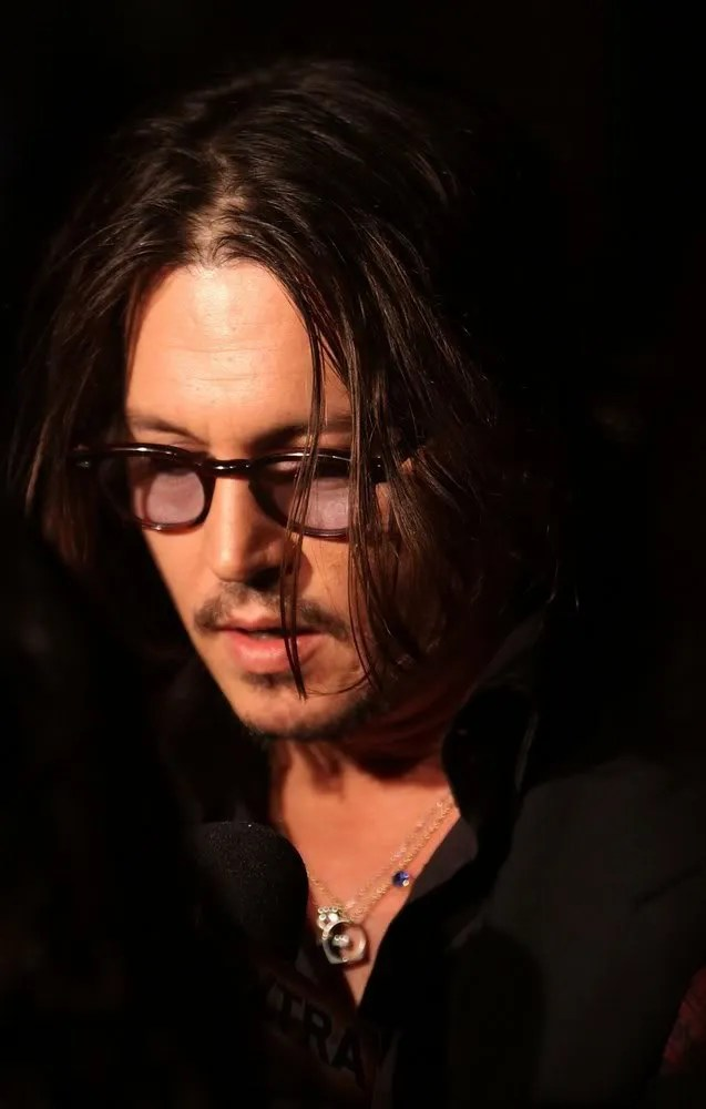 Johnny at Tim Burton Event MoMA