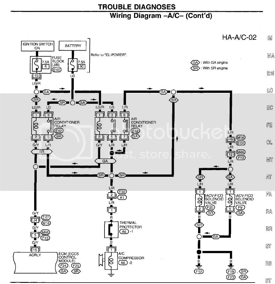 hight resolution of wrg 7489 nissan ga16de wiring diagram nissan forum nissan forum nissan ga16de wiring diagram
