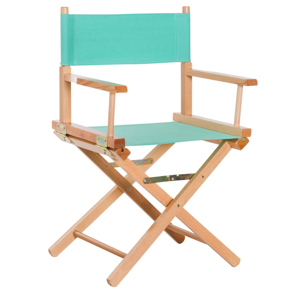 Folding Director Chair Homcom Beech Wooden Folding Director Chair Oxford Fabric Seat For Garden Indoor Outdoor Green