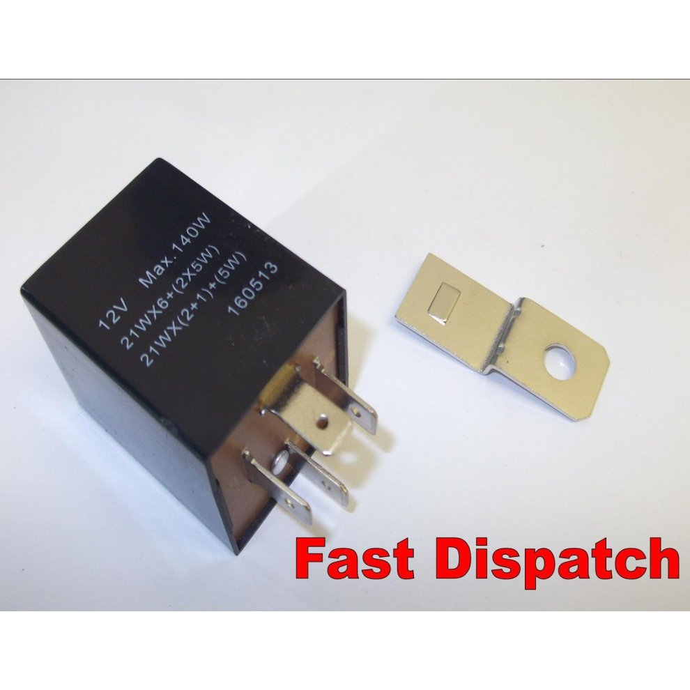 hight resolution of 4 pin automotive electronic flasher hazard unit relay 98w renault on onbuy