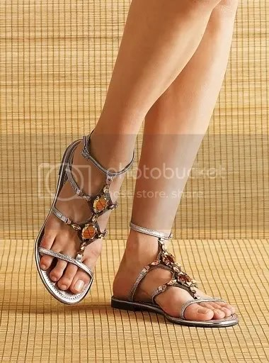 bohemian sandals Pictures, Images and Photos
