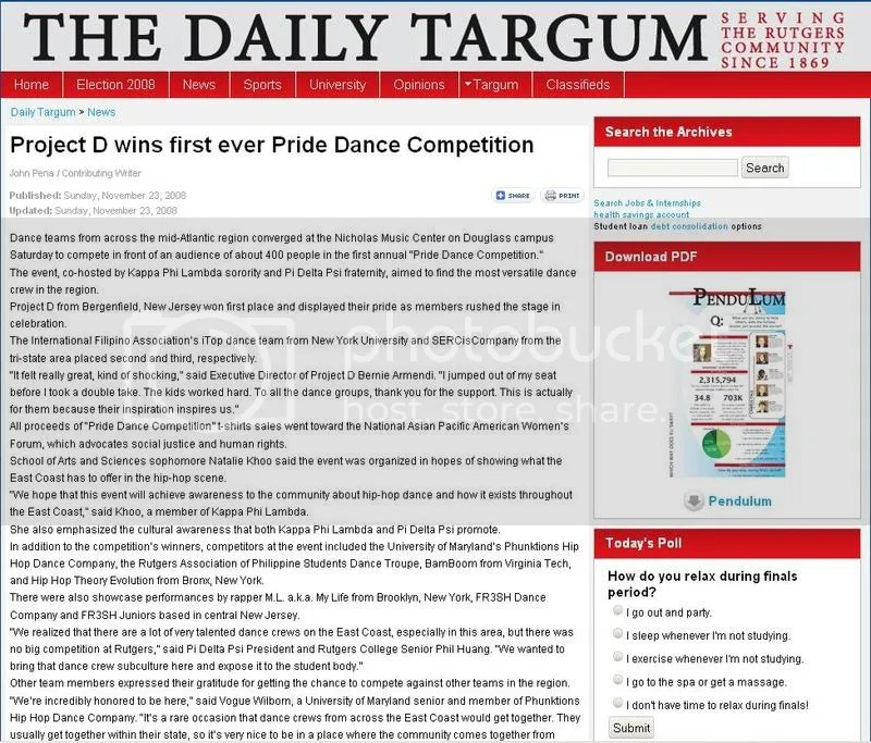 Project D wins first ever Pride Dance Competition