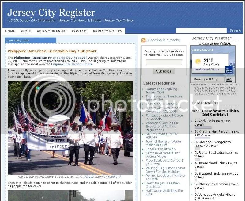 Philippine American Friendship Day Cut Short