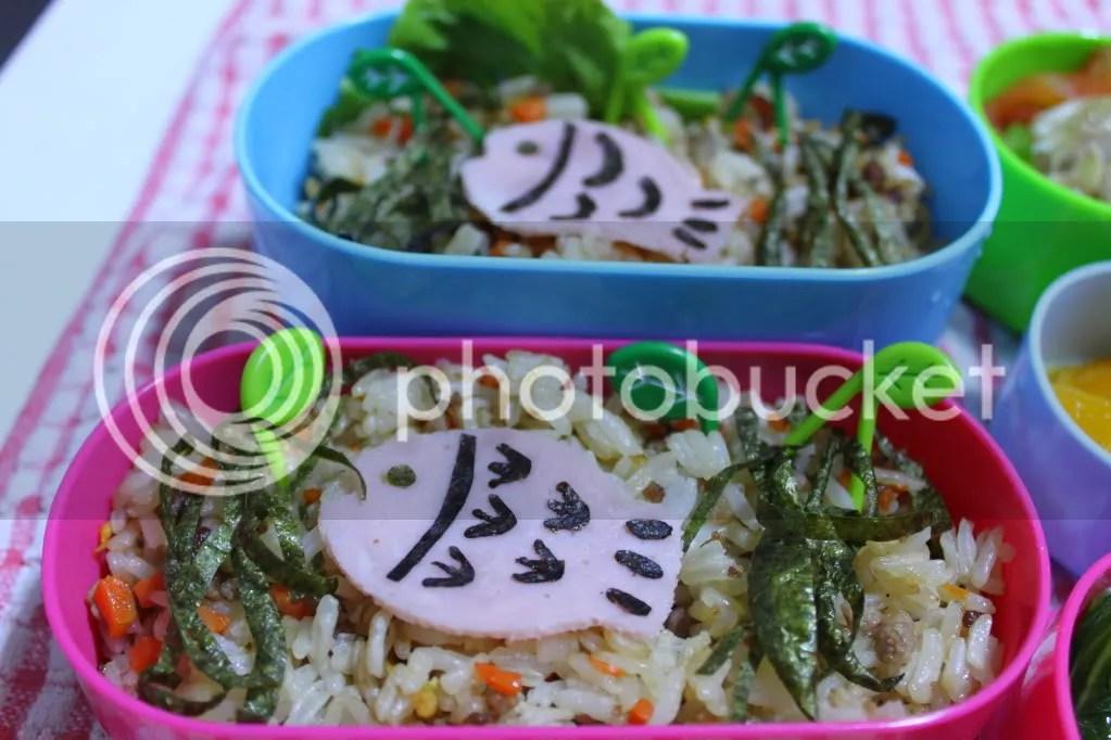 Fishy Fish Bento