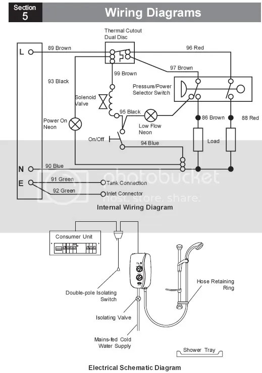 Shower Rcd Wiring Diagram : 25 Wiring Diagram Images