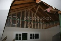 Insulation for vaulted ceiling?