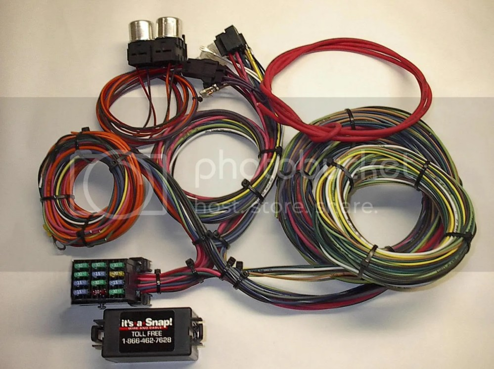 medium resolution of in snap wiring harness wire diagram preview in snap wiring harness