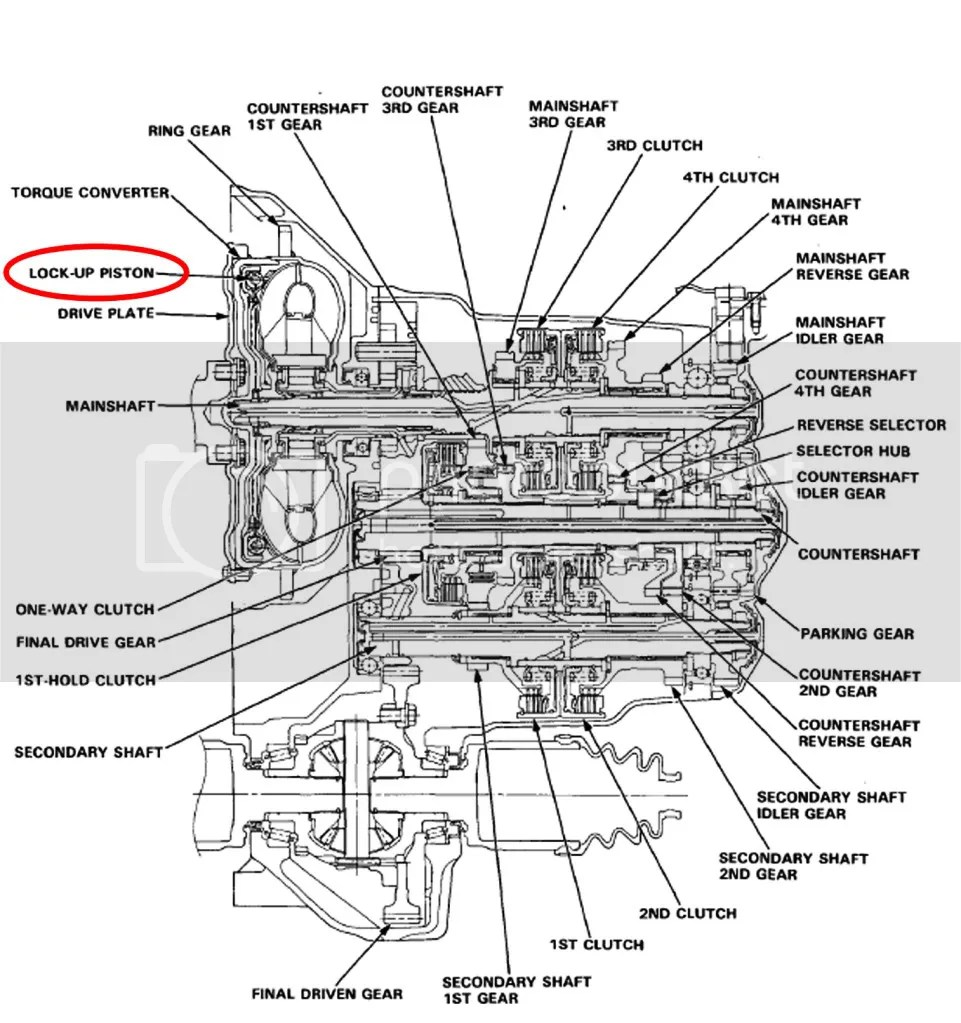 Show Picture 2000 Honda Odyssey Transmission Diagram Html