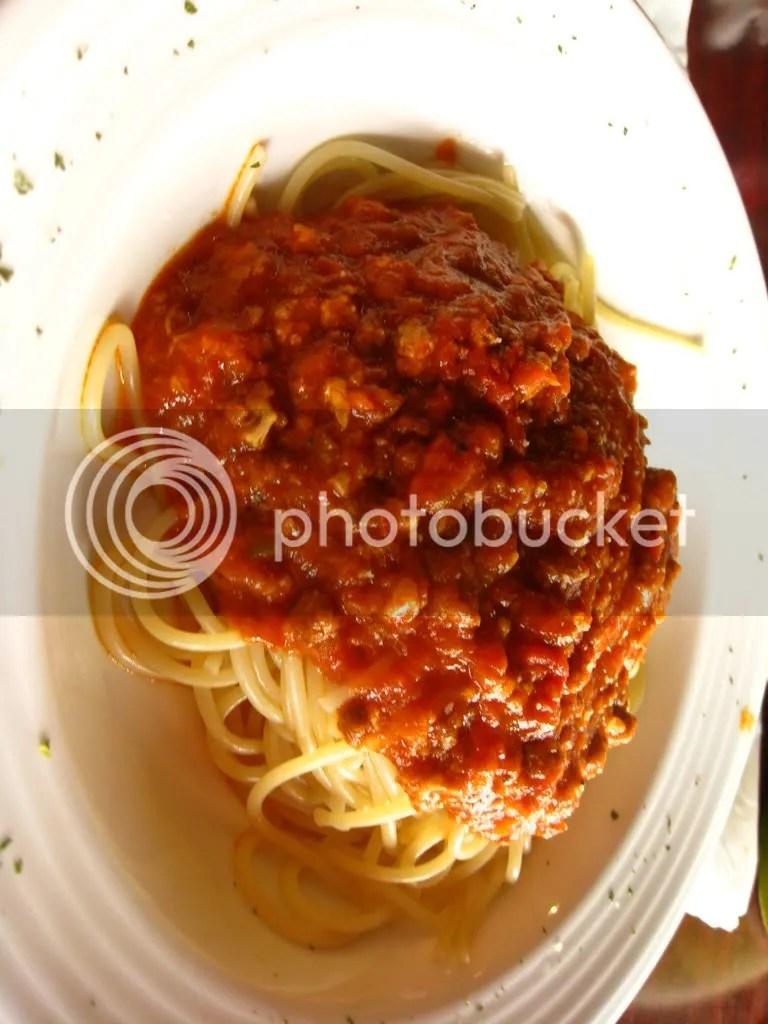 Then 1 pasta dish each.