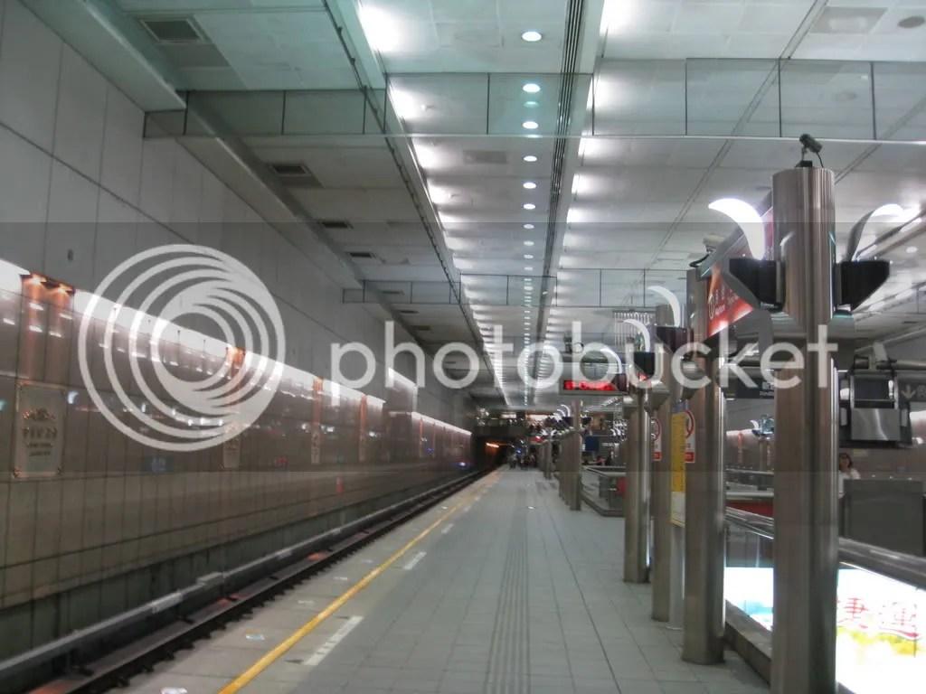 Inside the underground metro..!
