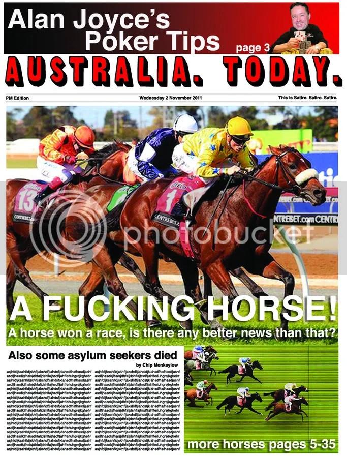 Wednesday 2 November 2011