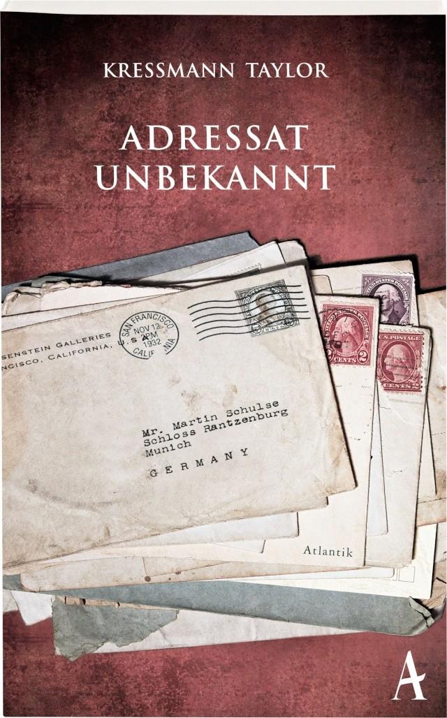 Kressmann Taylor: Adressat unbekannt - Cover (c) Hoffamnn und Campe