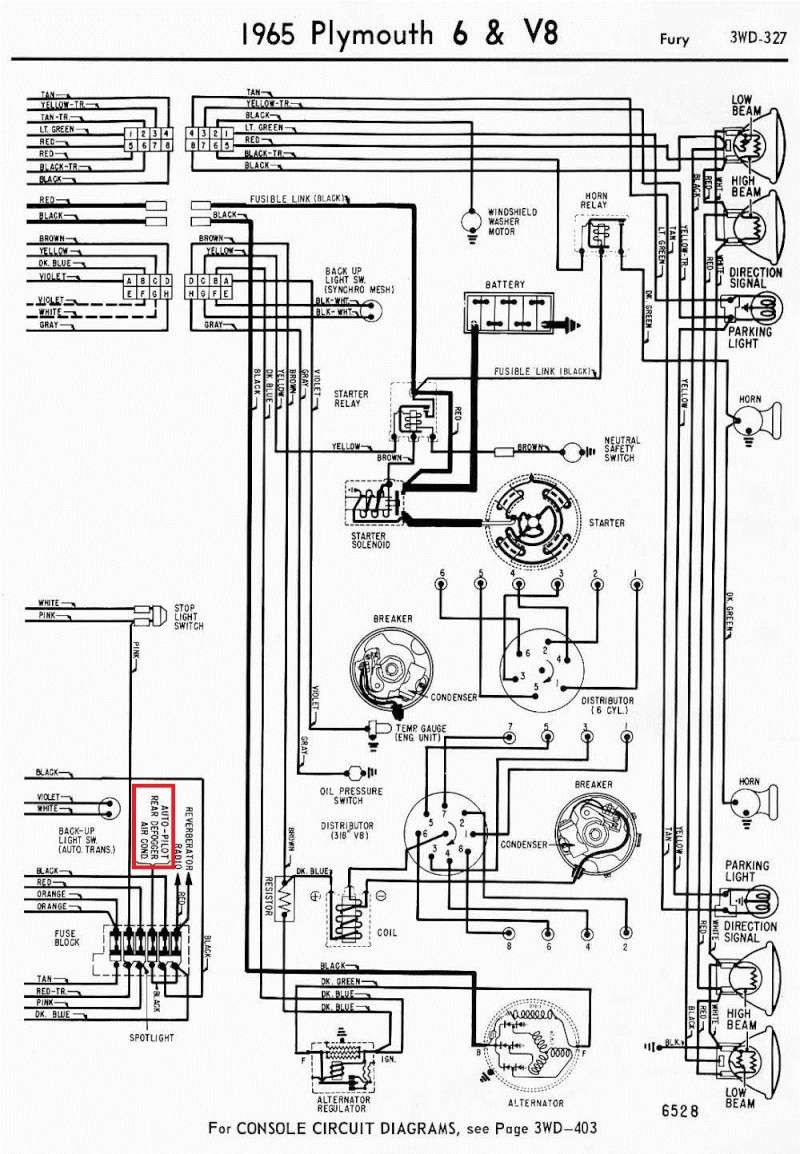 1965 Plymouth Satellite Wiring Diagram