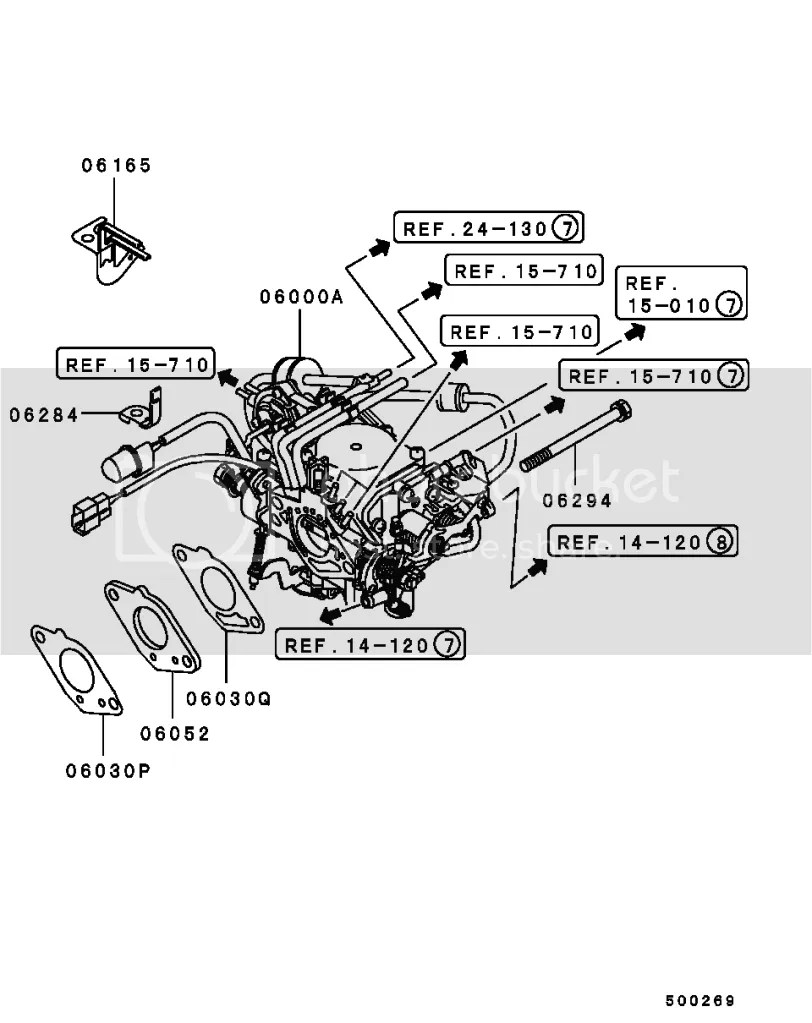hight resolution of carburetor coolant lines