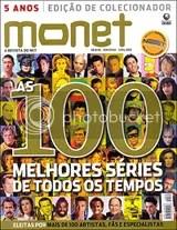 Revista Monet de abril - As 100 melhores séries - Clique para ampliar