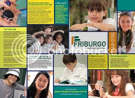 Folder de apresentação do novo visual do Friburgo - Clique para ampliar