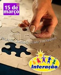 Festa da Interação - Dia 15 de Março a partir das 10 horas